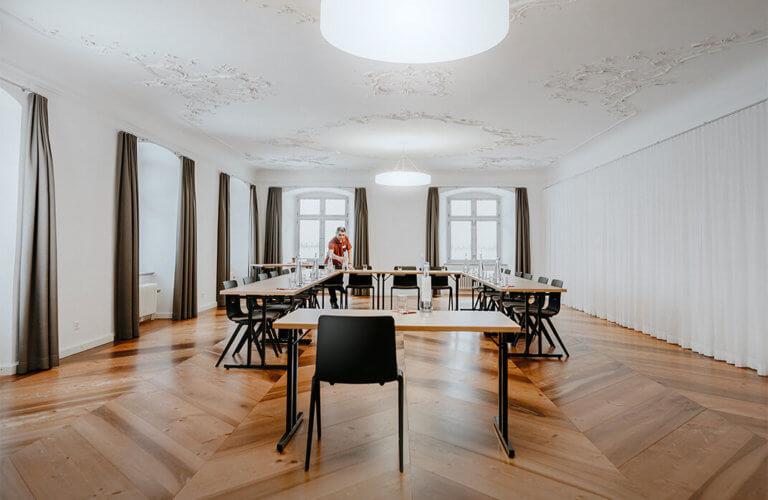 Wunderschöne Taguns- und Seminarräume im Seminarhotel Kloster Fischingen