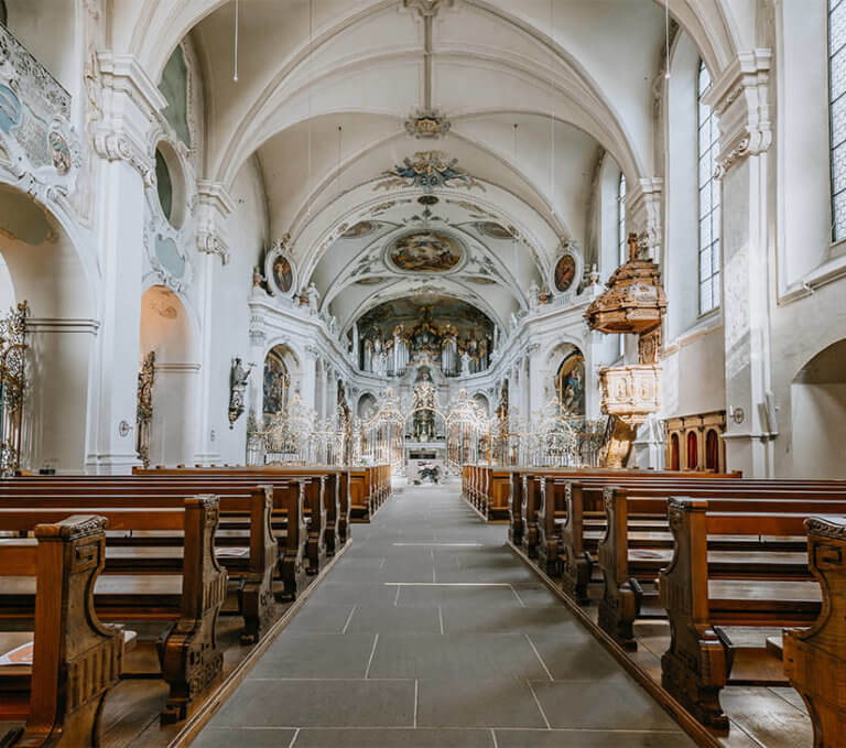 Kloster Kirche in Fischingen