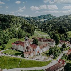 Kloster Fischingen aus der Luft