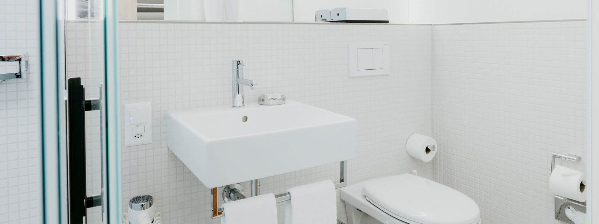 Slider Hotelzimmer Badezimmer